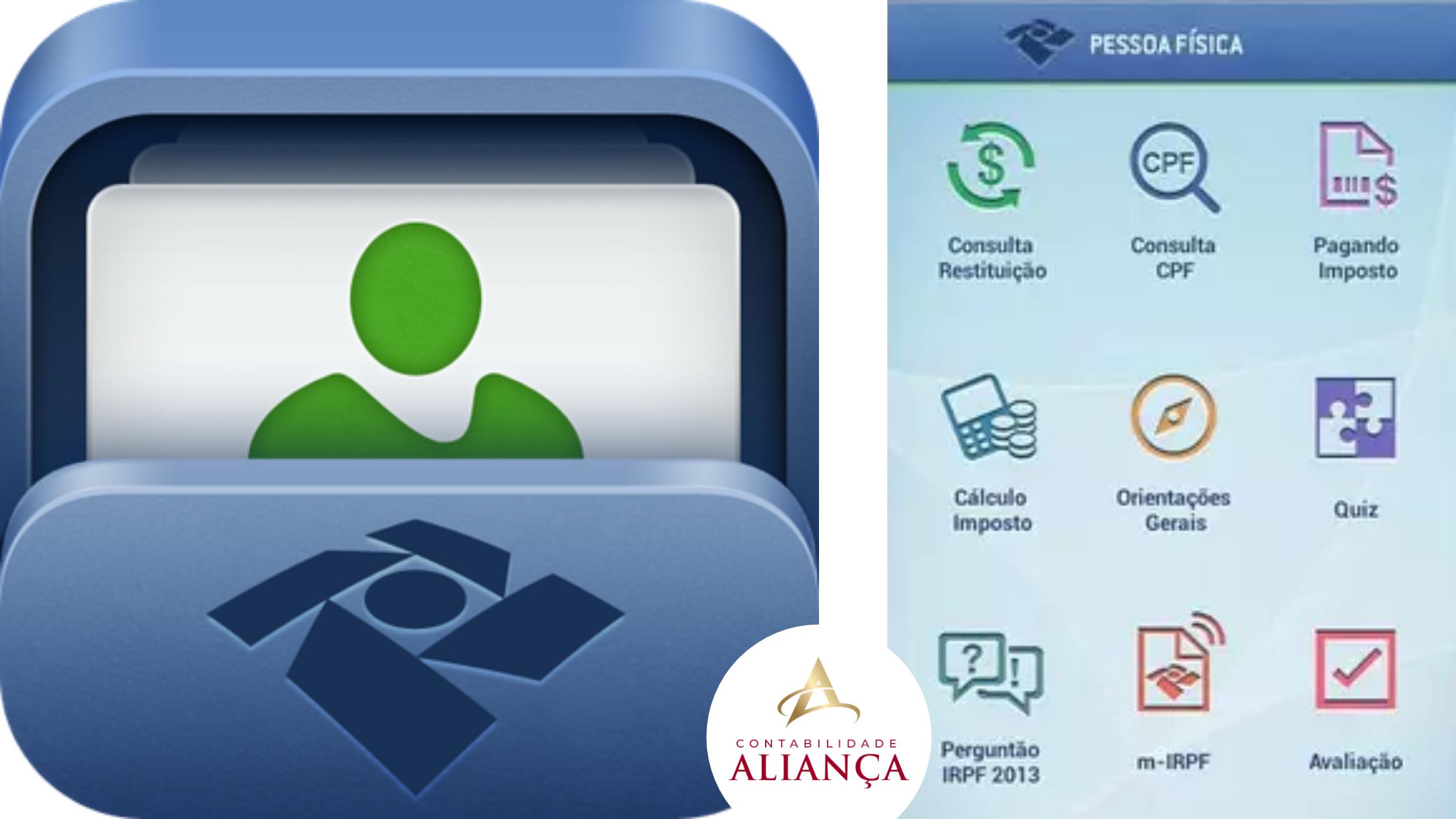 Aplicativo Pf - Contabilidade em Guarulhos - SP | Aliança Contabilidade - APP Pessoa Física – Consulta de Restituição do IRPF
